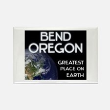bend oregon - greatest place on earth Rectangle Ma