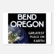 bend oregon - greatest place on earth Postcards (P