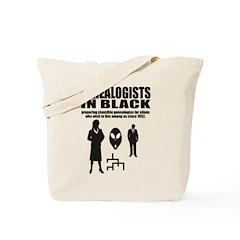 Genealogists In Black Tote Bag