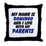 my name is domingo and I live with my parents Thro