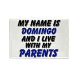 my name is domingo and I live with my parents Rect