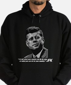 JFK...Ask not... Hoodie (dark)