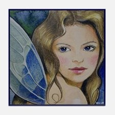 Fairy Art Ceramic Tile Coaster