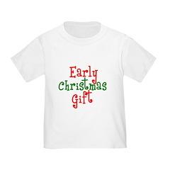 Early Christmas Gift Toddler Tee