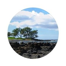 Rocks on Beach Ornament (Round)
