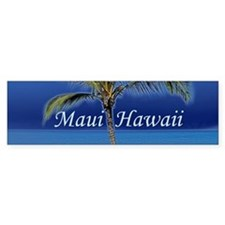 Maui Hawaii Bumper Sticker