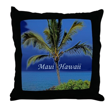 Maui Hawaii Throw Pillow