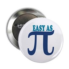 """Easy as Pi 2.25"""" Button (10 pack)"""