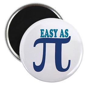 Easy as Pi Magnet