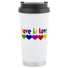 Love is Love Travel Coffee Mug