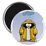 Rainy Day Penguin Magnet