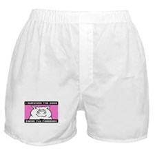 2009 Swine Flu Boxer Shorts