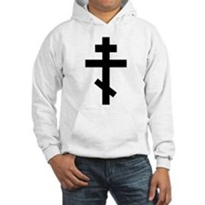 Orthodox Plain Cross Hoodie
