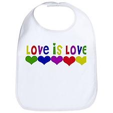 Cute Gay marriage Bib
