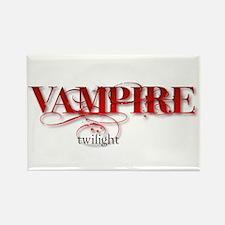 Twilight Vampire Rectangle Magnet