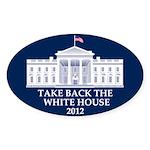 Take Back The White House Oval Sticker (10 pk)