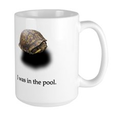 """Scared Turtle"" Mug"