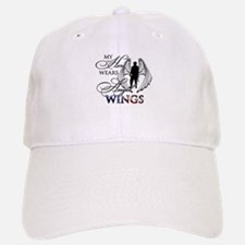 My Hero Wears Angel Wings Baseball Baseball Cap