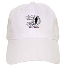 My Hero Wears Angel Wings Baseball Cap
