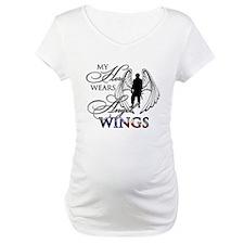 My Hero Wears Angel Wings Shirt