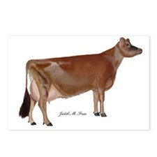 Jersey Cow Postcards (Package of 8)