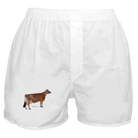 Jersey Cow Boxer Shorts