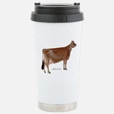 Jersey Cow Travel Mug