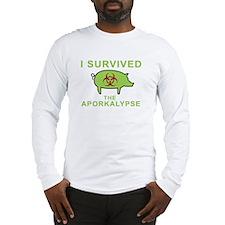 Swine Flu Fun - Long Sleeve T-Shirt