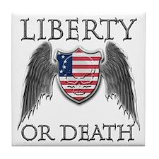 Liberty or Death Tile Coaster