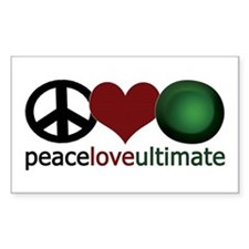 Ultimate Love - Rectangle Decal
