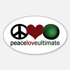 Ultimate Love - Oval Decal
