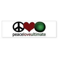 Ultimate Love - Bumper Car Sticker