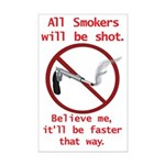 No Smoking Mini Poster Print