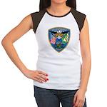 Valaparaiso Police Women's Cap Sleeve T-Shirt