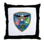 Valaparaiso Police Throw Pillow