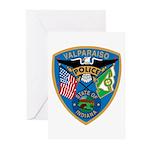 Valaparaiso Police Greeting Cards (Pk of 20)