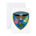 Valaparaiso Police Greeting Cards (Pk of 10)