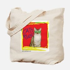 Cats Rule Tote Bag