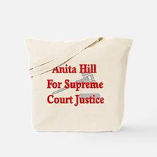 Anita HIll For Supreme Court Tote Bag