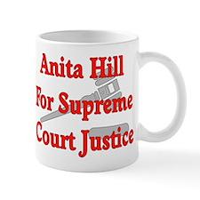 Anita HIll For Supreme Court Mug