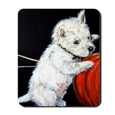 Pumpkin Pup Mousepad