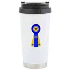 Labrador Ribbon Travel Mug