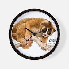 Slow Loris Wall Clock