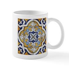 Portuguese Tiles Designs Small Mug