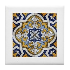 Portuguese Tiles Designs Tile Coaster