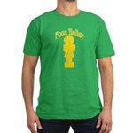 Foos Baller Men's Fitted T-Shirt (dark)
