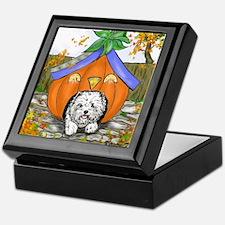 Pumpkin House Keepsake Box