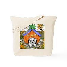 Pumpkin House Tote Bag
