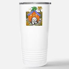 Pumpkin House Stainless Steel Travel Mug