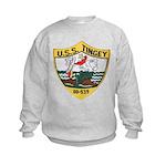 USS TINGEY Kids Sweatshirt